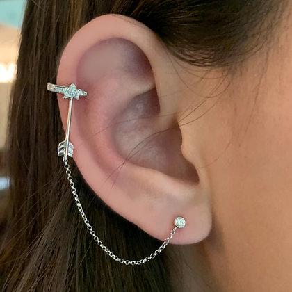 Arrow and Stud Ear Cuffs