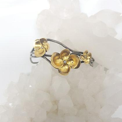 Flower Bracelet Cuff