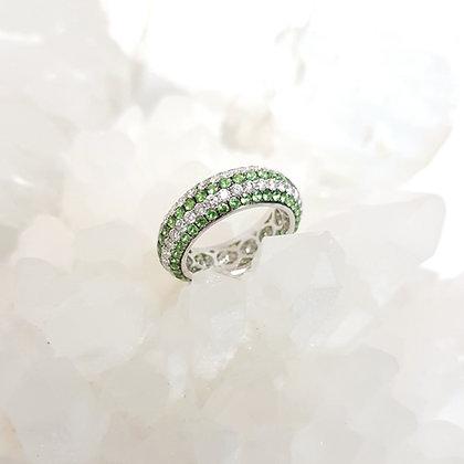 Tsavorite Eternity Ring
