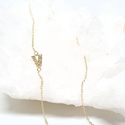 Monogram V Necklace