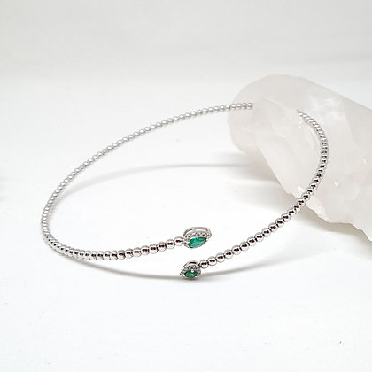 Green Emerald Choker Necklace