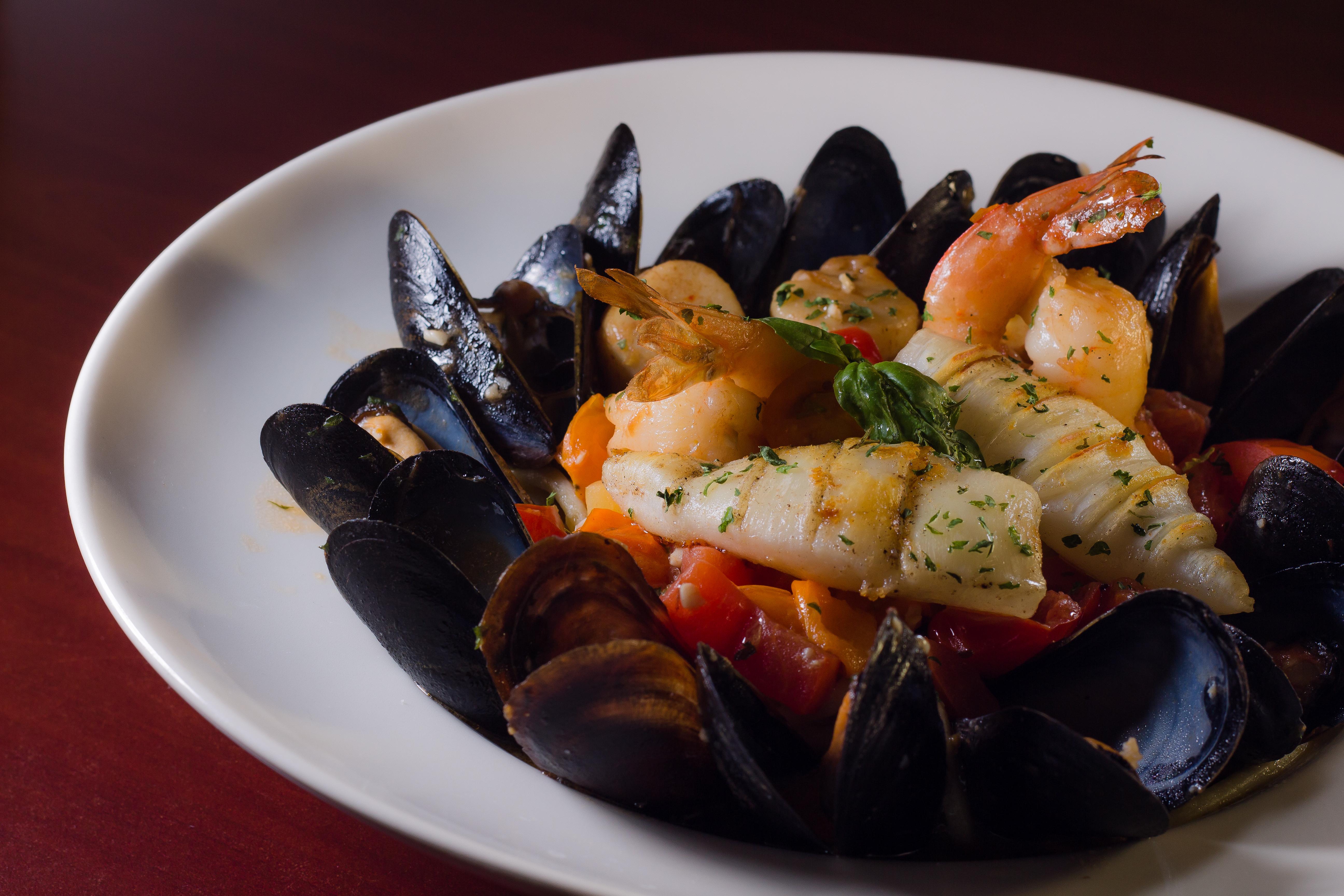 calamari italian dish