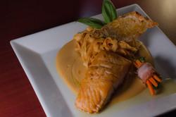 salmon italian dish