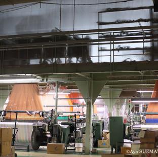 織物工場 ジャガード織機