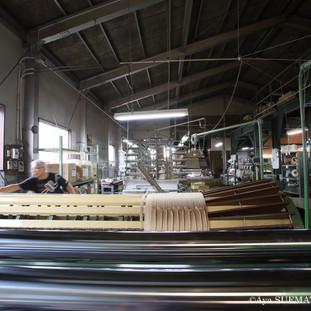 織物工場 整経2