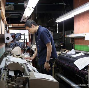 織物工場 西村