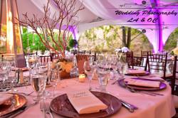 Wedding Table Decour