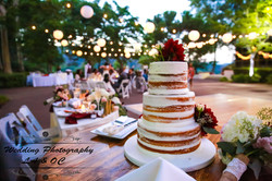Wedding Cake - Low Light Picture
