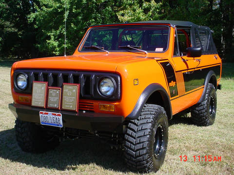 Show Winning 1979 Scout II