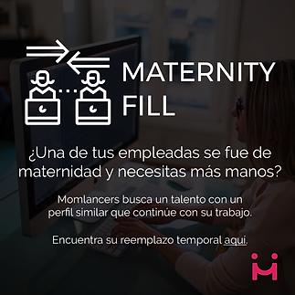 Sustitución de maternidad, ua de tus empleadas se fue de matenidad y necesitas apoyo