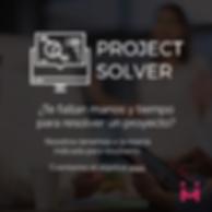 Ejecución de proyectos, te faltan manos y tiempo para resolver un proyeto
