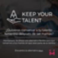 Conserva tu talento, quédate con las personas quehan demostrado ser profesionales
