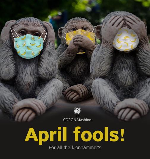 DAY 29 / CORONAfashion Who is the fool now? 1.4.20 תמשיכו לעקוב..