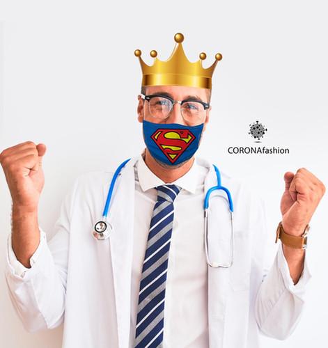DAY 16 / CORONAfashion Our doctors, our hero's תמשיכו לעקוב..