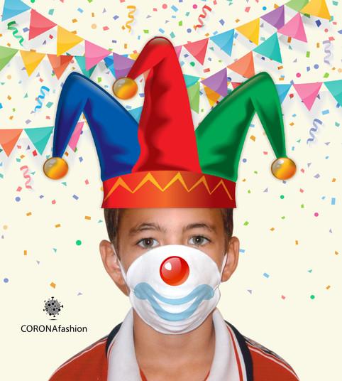 Day 5 / CORONAfashion  חג פורים, חג פורים, חג גדול לילדים! מסכות רעשנים שירים וריקודים.. תתחפשו, תהנו ותכייפו. חג שמחחח!  תמשיכו לעקוב...