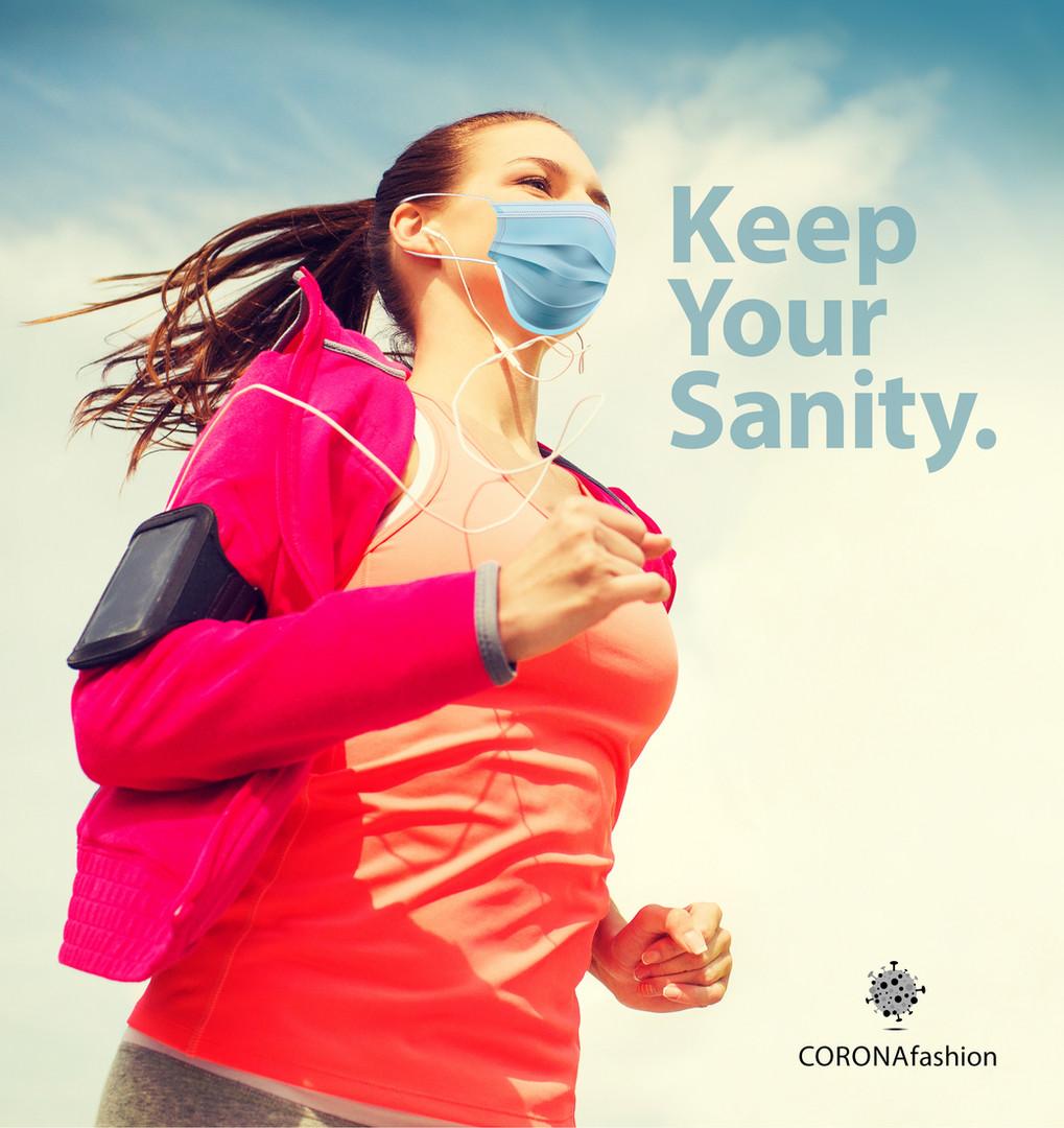 DAY 59 / CORONAfashion  Keep Your Sanity.  אויר צח, ספורט ומוזיקה - מתכון מנצח לשמירת השפיות🙏🏼  תמשיכו לעקוב...