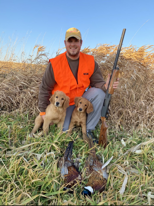 Luna and Holland's first hunt