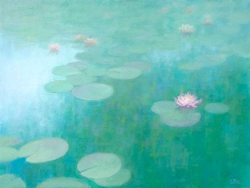Lillies #3 original oil