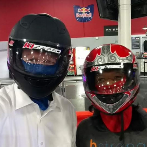"""Another favorite movie quote of ours was from Days of Thunder: """"Rubbing is racing""""/""""I'm dropping the hammer"""" If you didn't know, B loved go-kart racing..I had the pleasure of getting my butt kicked first hand.. and to quote Ricky Bobby, """"If you aren't 1st you're last"""". -Kyle Verkouteren"""