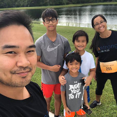 Happy birthday in heaven cousin. You are missed and will never be forgotten. Wish my boys could have met one of the strongest people I know.  5k walk with the family to celebrate your legacy. We miss you.