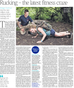 London Times: Rucking for Fitness