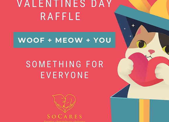 Vanlentines Day Raffle Three Tickets For $10