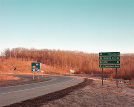 Nelsonville Buchtel Exit Ramp