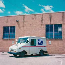 USPS Mail Truck on Stimson