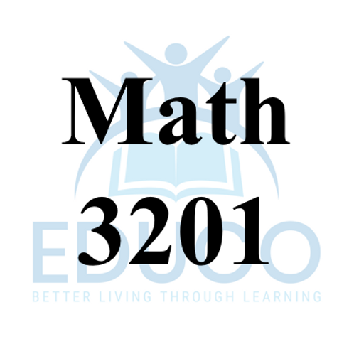 Math 3201 Review Booklets