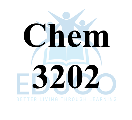 Chemistry 3202 Review Booklets
