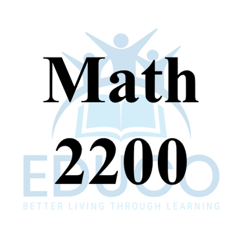 Math 2200 Review Booklets