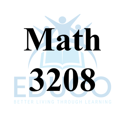 Math 3208 Review Booklets