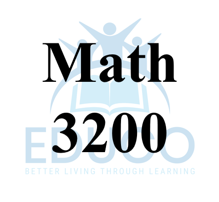 Math 3200 Review Booklets