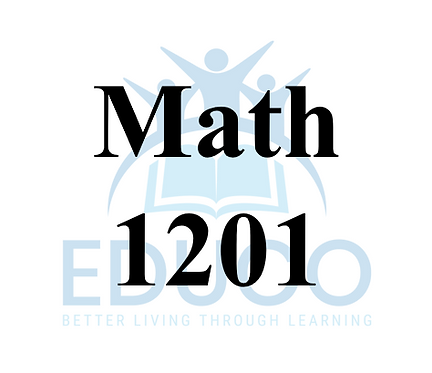 Math 1201 Review Booklets