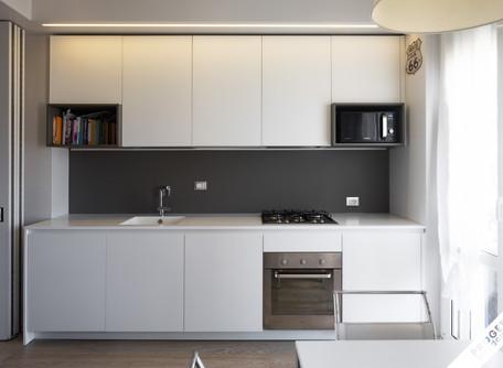cucina laccato e Fenix