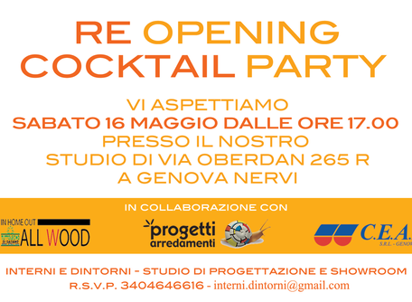 RE Opening cocktail party