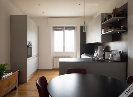integrazione di cucina pre-esistente