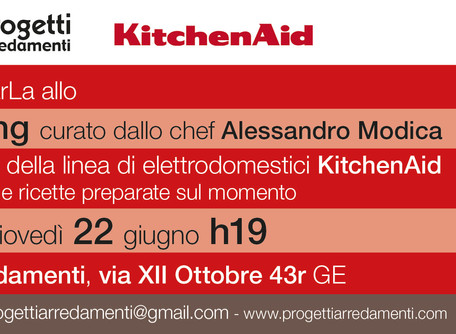 showcooking KitchenAid: ecco le foto