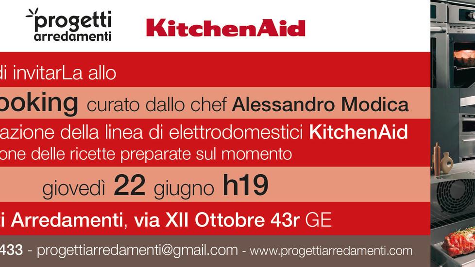 showcooking KitchenAid: ecco le foto