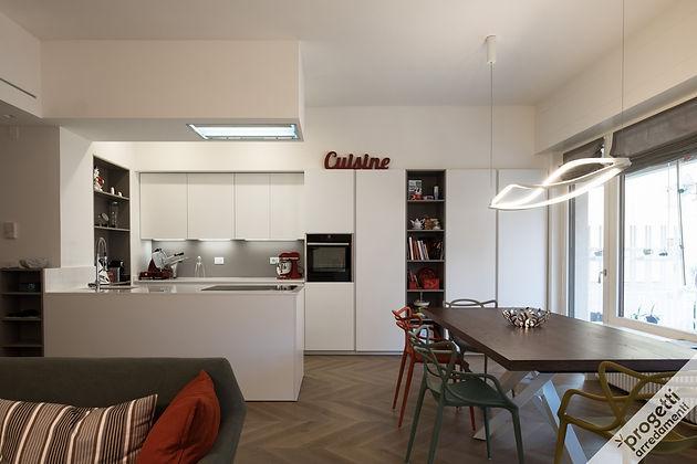 cucina e zona living | Progetti Arredamenti | Cesar Flagship Store ...