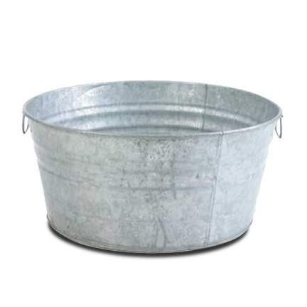 Galvanized Beverage Tubs