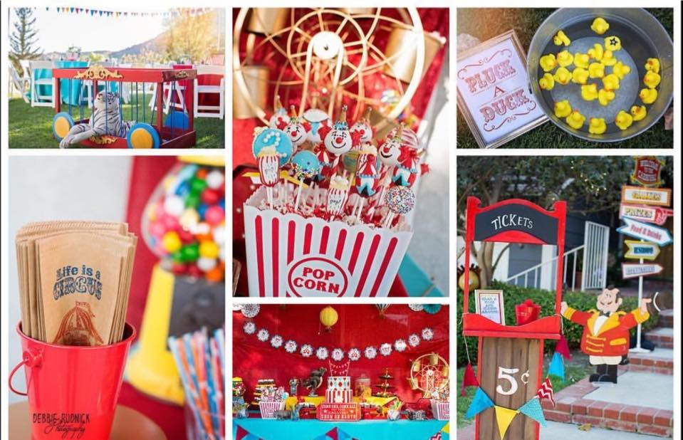 CIRCUS COLLAGE