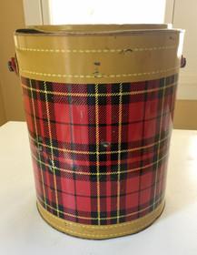 Vintage Plaid Water Cooler for Rent