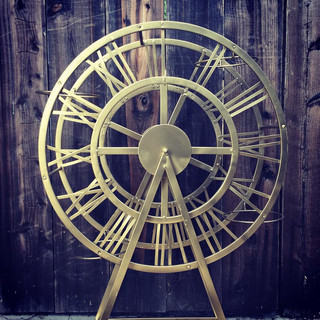 3ft tall gold ferris wheel ($25)