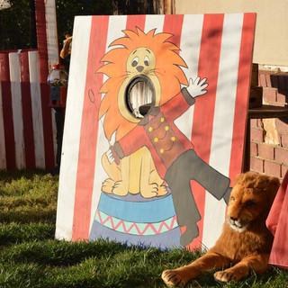 Lion Tamer Photo Prop ($20)