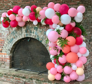 Organic Balloon Garland