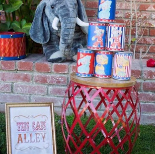 Tin Can Alley Game ($10) Elephant ($10)
