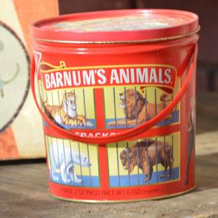 Animal Cracker Tin (2 available) ($4/each)