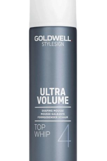 Goldwell Style Sign Top Whip Ultra Strong Volume Mousse 10.3oz