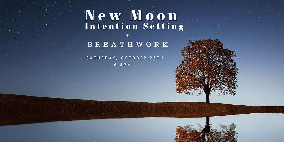 New Moon Breathwork + Intention Setting